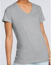 Premium Cotton® Ladies` V-Neck T-Shirt